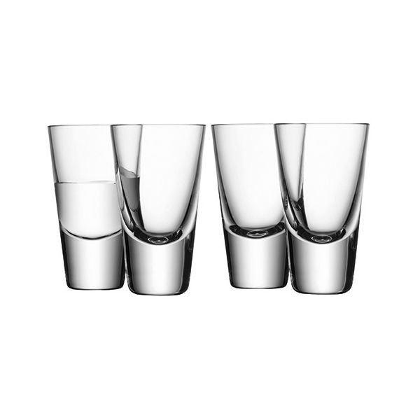 LSA Bar Vodka Glass Set Of Four