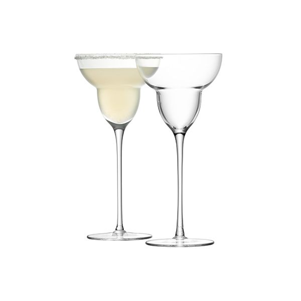 LSA Bar Margarita Glass Set Of Two
