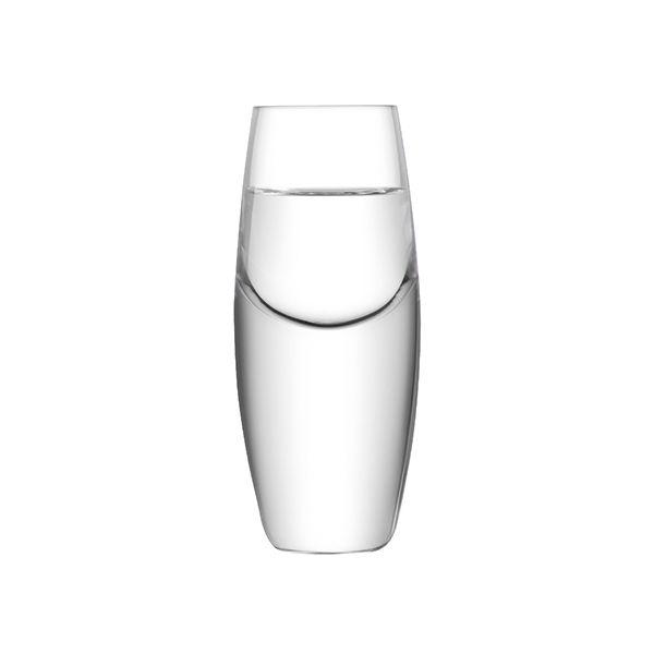 LSA Bullet Vodka Glass 70ml Clear Set Of 2