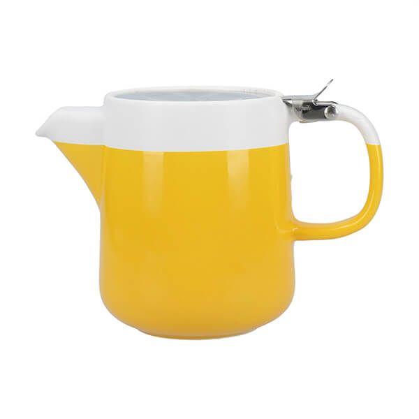 La Cafetiere Barcelona 420ml Teapot Mustard