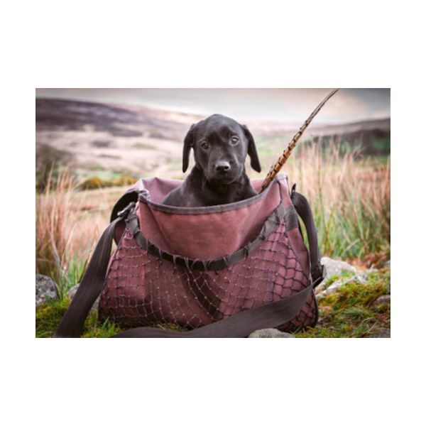 Country Matters Lab Pup In Game Bag Lap Tray
