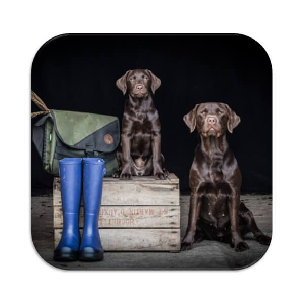 Country Matters So Proud (Working Labs) Coaster