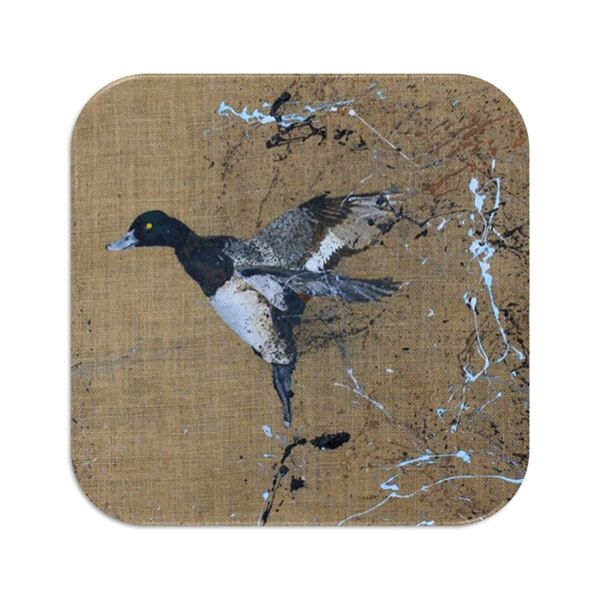 Country Matters Scaup Coaster
