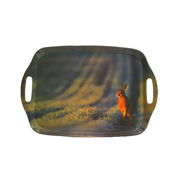 Country Matters Wild Hare Tray