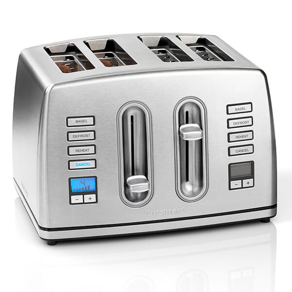 Cuisinart 4 Slice Toaster Brushed Stainless Steel