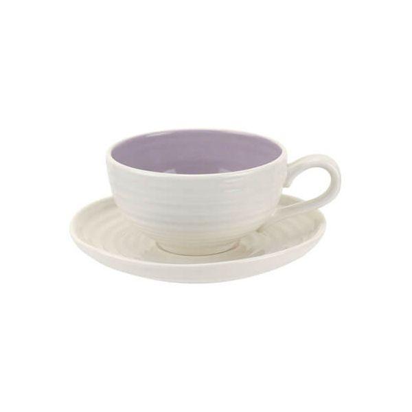 Sophie Conran Colour Pop Tea Cup & Saucer Mulberry