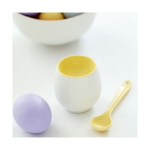 Sophie Conran Colour Pop Egg Cup & Spoon Sunshine