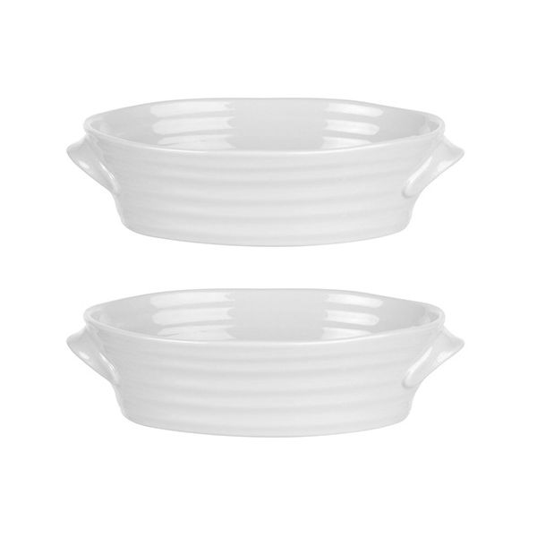 Sophie Conran Set Of 2 Mini Oval Dish Half Price Offer