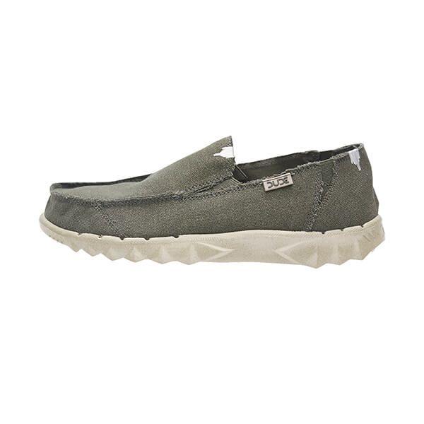 Dude Farty Forest Roughcut Canvas Shoes Size UK6 / EU40