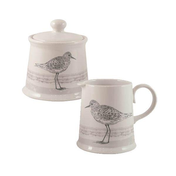 English Tableware Company Sandpiper Creamer Jug & Sugar Bowl Set