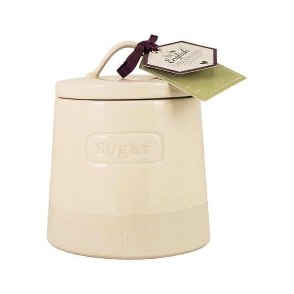 English Tableware Company Artisan Cream Sugar Canister With Lid