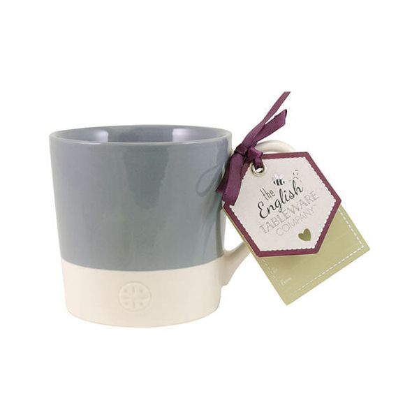 English Tableware Company Artisan Blue Two Tone Mug