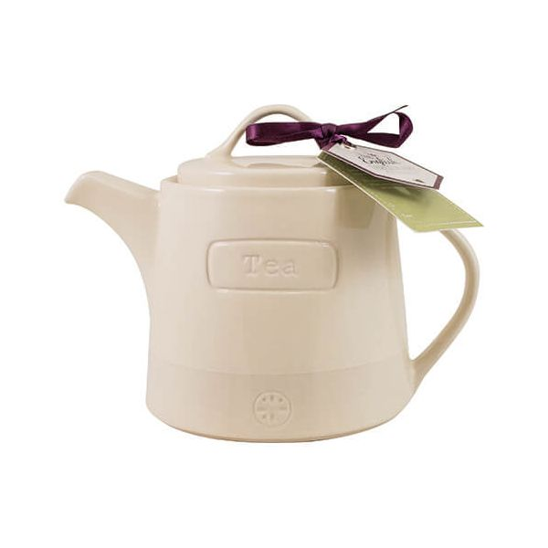 English Tableware Company Artisan Cream Teapot