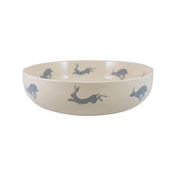 English Tableware Company Artisan Hare Serving Bowl