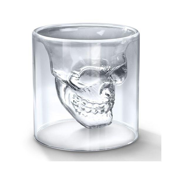 Fred Doomed Skull Shot Glass