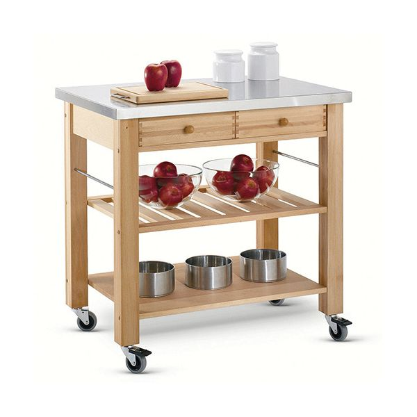 Free Kitchen Catalogs: Eddingtons Lambourn Two Drawer With A Stainless Steel Top