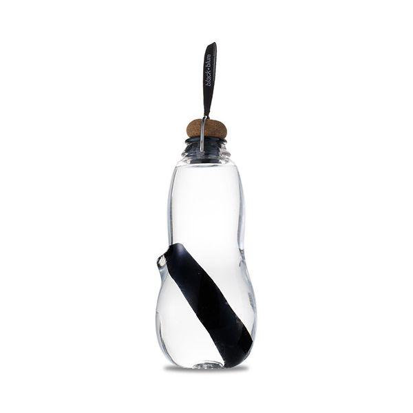 Black + Blum Eau Good Charcoal Filter Water Bottle Black