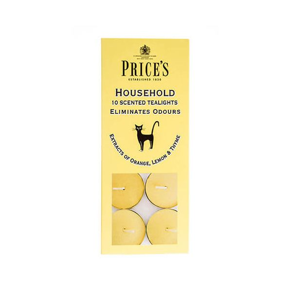 Prices Fresh Air Household Tealights Pack Of 10
