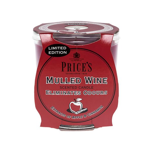 Prices Fresh Air Jar Candle Mulled Wine