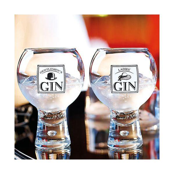 Durobor Raising Spirits Gentlemen's Gin Glass