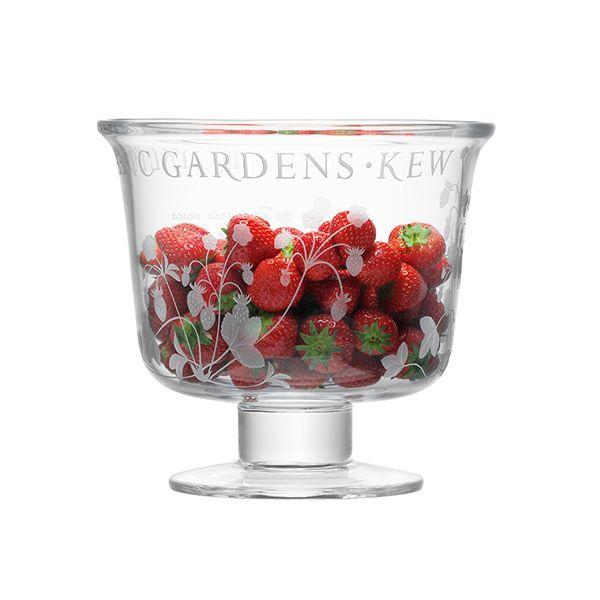 LSA Royal Botanical Gardens Kew 22cm Comport - Wild Strawberry