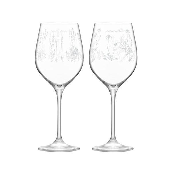 LSA Royal Botanical Gardens Kew White Wine Glass 450ml Assorted Set of 4