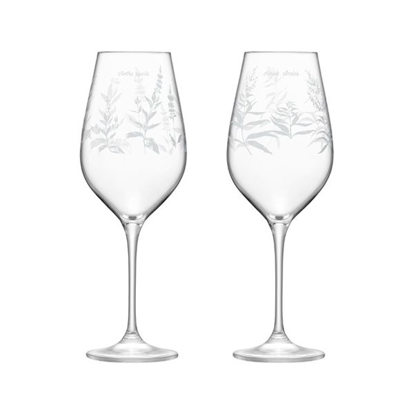 LSA Royal Botanical Gardens Kew Red Wine Glass 500ml Assorted Set of 4