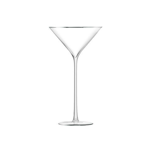 LSA Celebrate Platinum Cocktail Glass 225ml Set Of 2