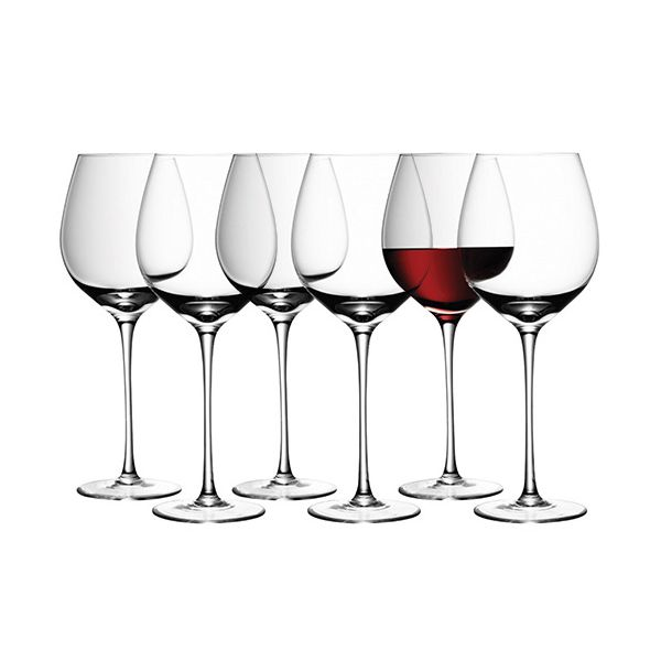 LSA Wine Red Wine Glass 550ml Set Of Six For The Price Of Four