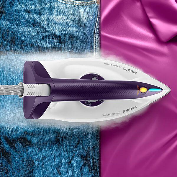 Philips Speedcare Steam Generator In Purple