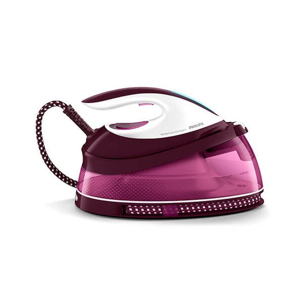 Philips Perfect Care Compact Steam Generator Rose Red
