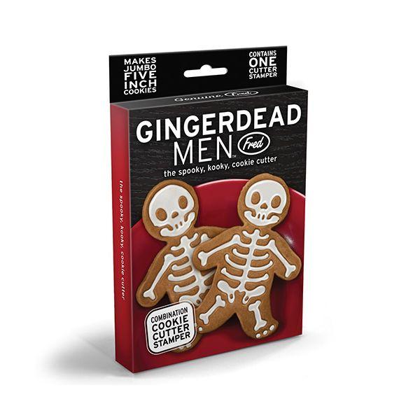 Fred Gingerdead Men skeletons Cookie Cutter