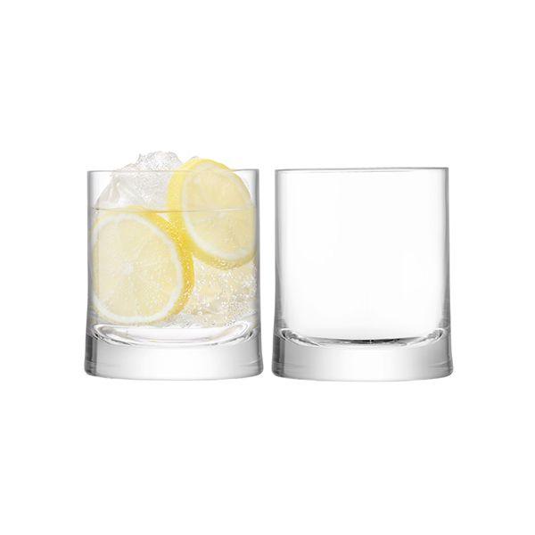LSA Gin Tumbler 310ml Clear Set Of 2