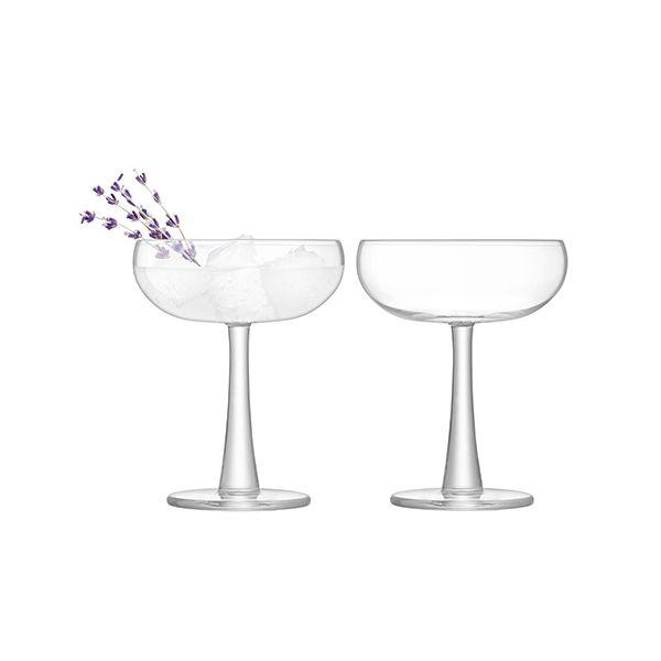 LSA Gin Coupe 280ml Clear Set Of 2