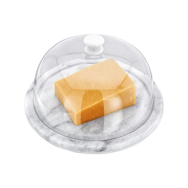 Judge White Marble Cheese Board 19 x 10cm