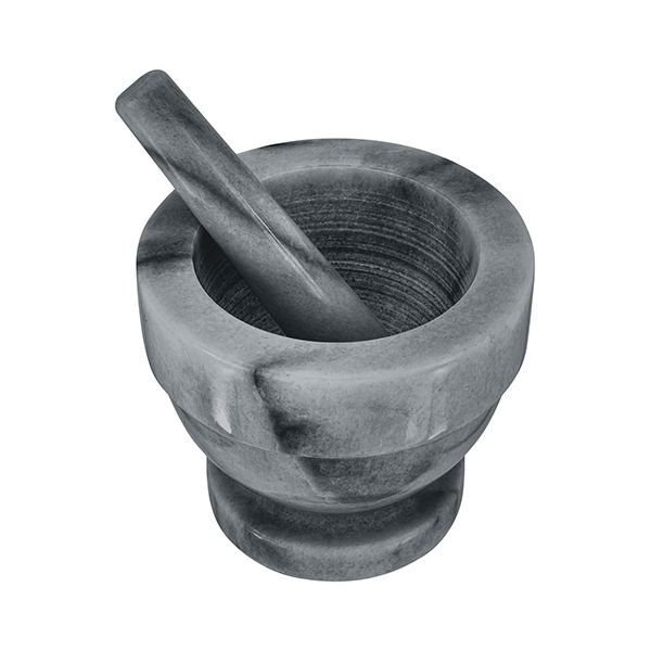 Judge Grey Marble 11.5cm Mortar and Pestle