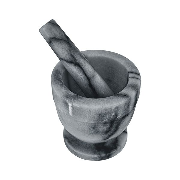Judge Grey Marble 10.5cm Mortar and Pestle