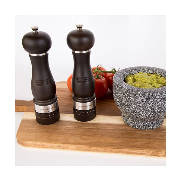 Cole & Mason Ardingly Gourmet Precision Salt Mill Forest Wood Gift Set