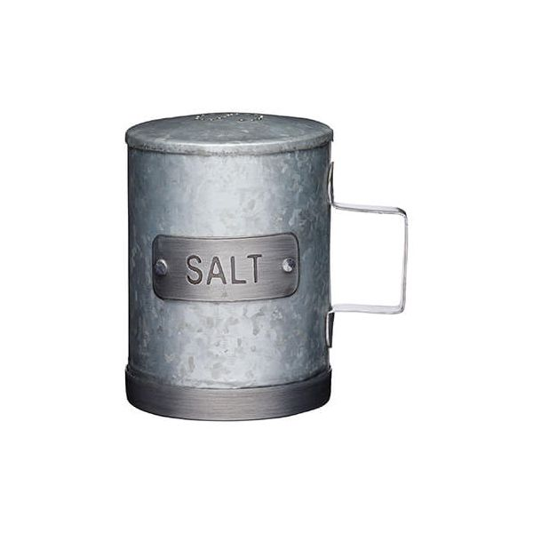 Industrial Kitchen Galvanised Steel Salt Shaker