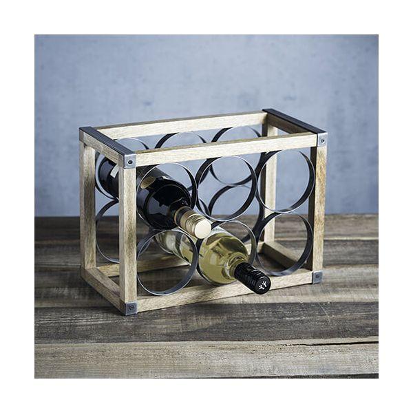 Industrial Kitchen 6 Bottle Wine Rack