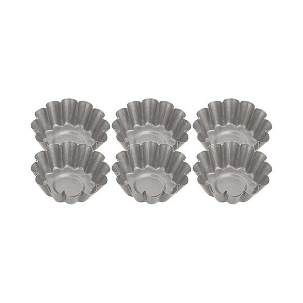 Judge Bakeware Fluted Mini Tart Tins (Set Of Six)