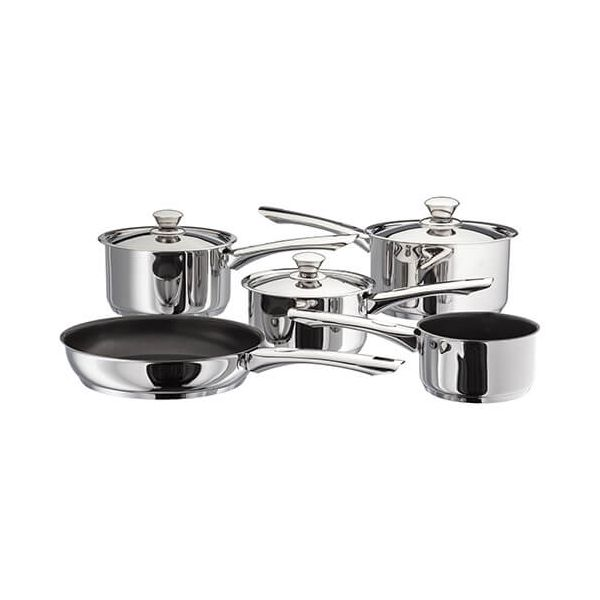 Judge Platina 5 Piece Saucepan Set