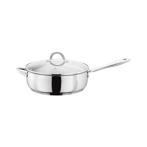 Judge Classic 28cm Saute Pan With Glass Lid