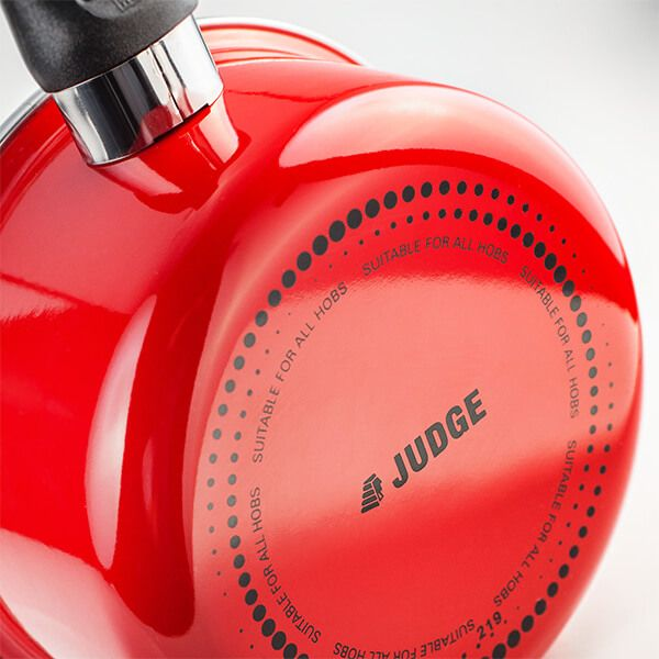 Judge Induction Red 14cm Milk Pan