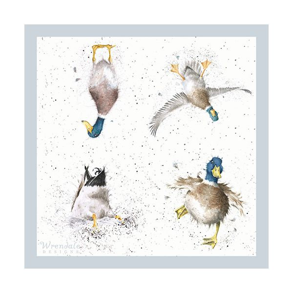 Wrendale Designs A Waddle and a Quack Pack Of 20 Napkins