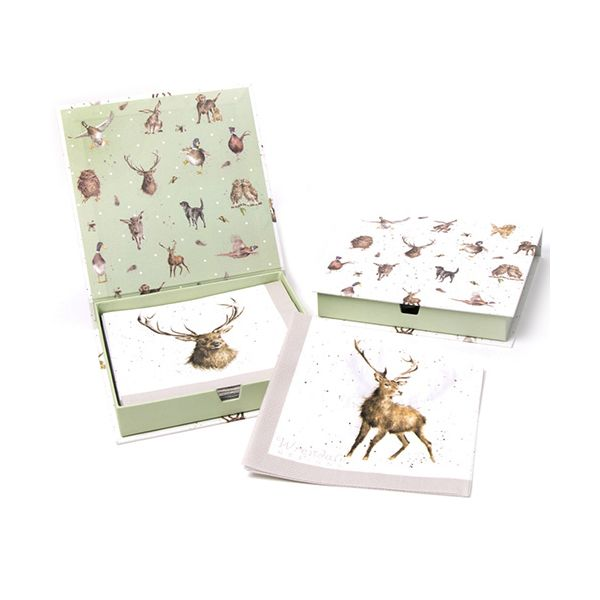 Wrendale Designs Wild At Heart Pack Of 20 Napkins Boxed