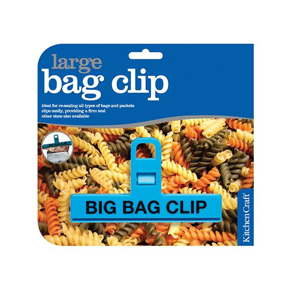 KitchenCraft Large Plastic Bag Clip