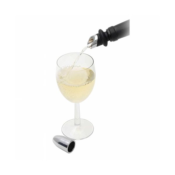 BarCraft Chromed Wine Pourer & Stopper