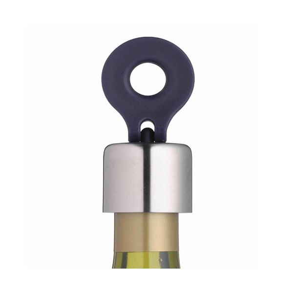 BarCraft Stainless Steel Flip-Top Bottle Stopper
