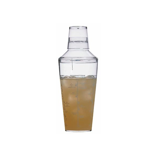 BarCraft Acrylic 700ml Cocktail Shaker